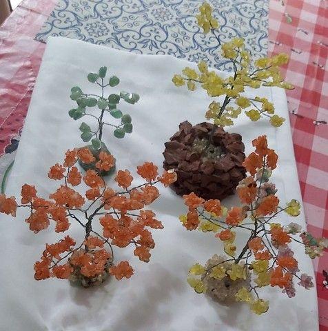 Vende-se 4 Árvores Prosperidade de Pedras Naturais: