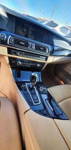 Torro! Ipva Pago!!! BMW 528I 2.0 Turbo - Top de Linha, 2013, interior Caramelo, 245 Cv - Foto 10