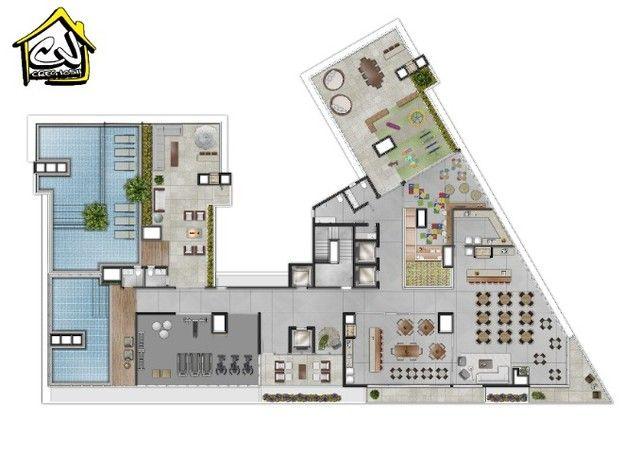 Lançamento c/ 3 Quartos - Praia Grande - 1 Vaga - Rooftop c/ Áreas Sociais - Foto 7