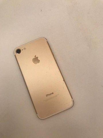 iPhone 7 Dourado aceito troca por 6sPlus - Foto 4