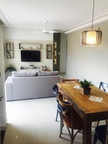 Apartamento decorado 2 quartos Praia do Morro