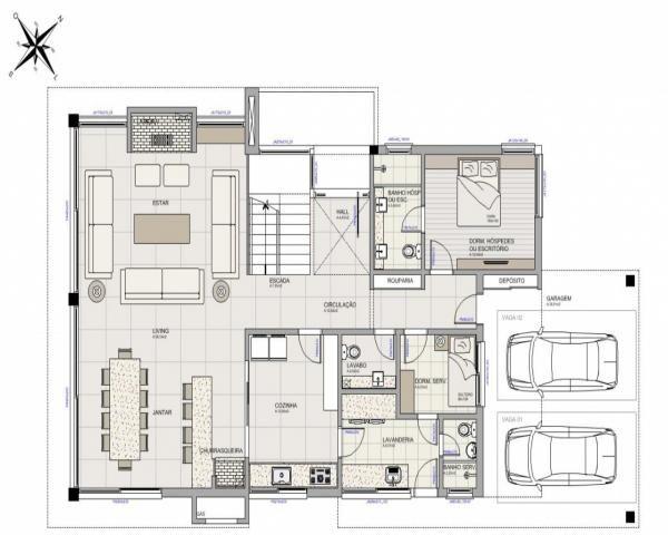 Casa de condomínio à venda com 3 dormitórios em Belém novo, Porto alegre cod:C1037 - Foto 9