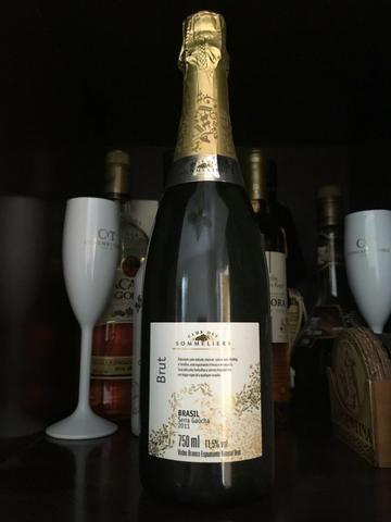Vinho Branco Espumante - Brut - Brasil Serra Gaucha - 750 ml