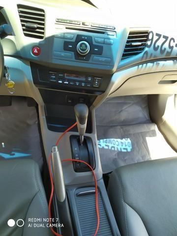 Honda Civic Semi Novo Completo e Automatico 2014 Conservado - Foto 16