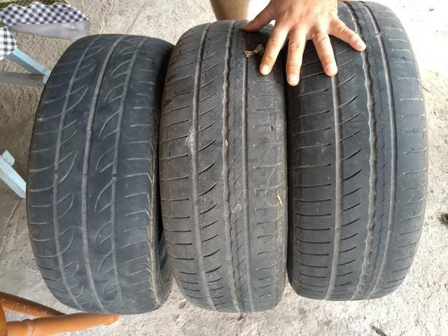 3 pneus