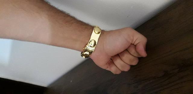Nossa promoção!! continua!! bracelete de moeda antiga!! - Foto 3