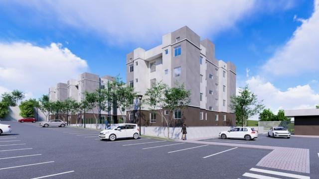 Apartamento em araucária condomínio clube subsídio de até 37 mil - Foto 3