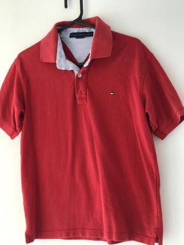 Camisa Polo Tommy Hilfiger Vermelha - Roupas e calçados - Jardim ... 56474d783f66a