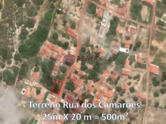 Terreno de 500 m² em região com grande potencial de crescimento