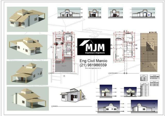 Engenheiro civil - Projeto Arquitetonico - Planta baixa - Projeto estrutural