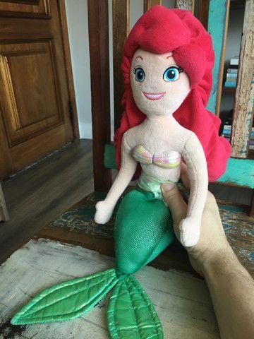 Pelúcia da Ariel, Pequena Sereia - Foto 3