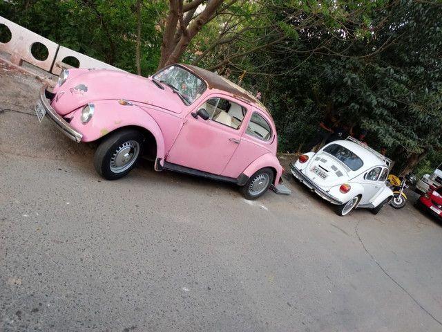 Vendo Fusca rosa  - Foto 2