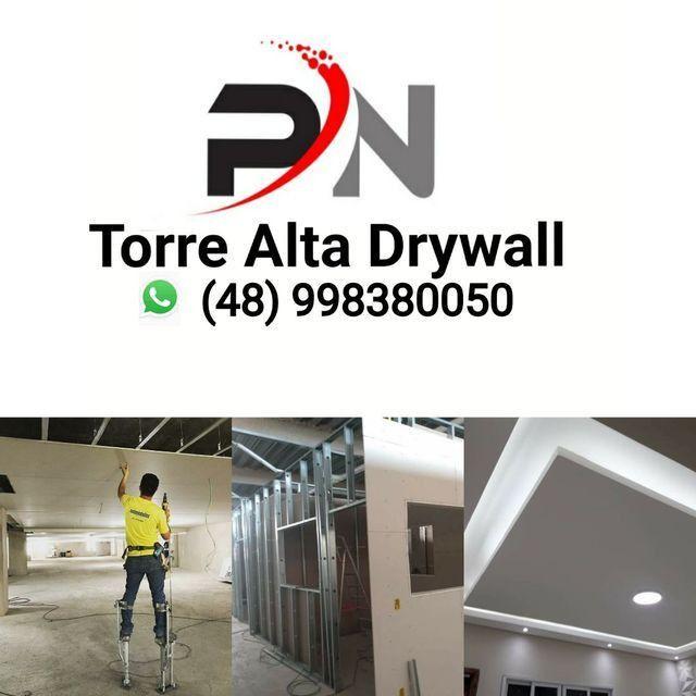 Divisorias e forro em acartonado drywall