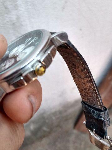 Relógio Montblanc Blanc Summit Xl Crono, Quartzo, Safira - Foto 5