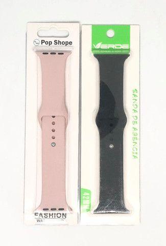 Pulseira Para Apple Watch 38/40 Silicone Produto Novo