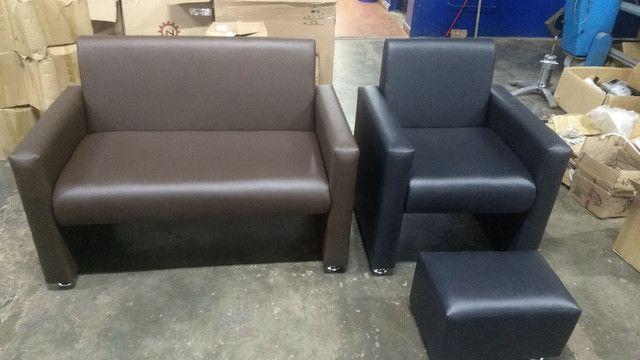 Poltrona recepção e poltrona papai reclinável !!! Fábricamos móveis salão !!