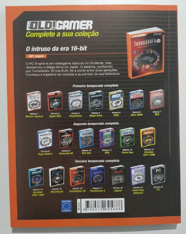Livro Dossiê Old!gamer Volume 16: Turbografx 16 Pc Engine - Foto 5