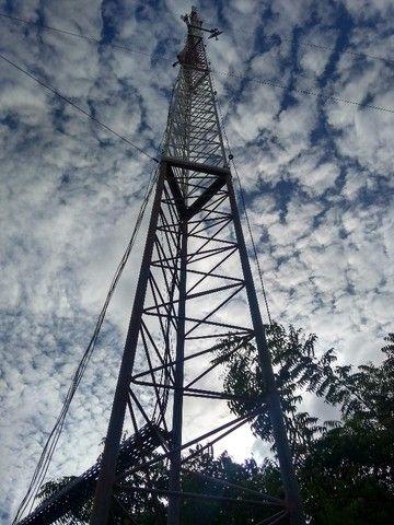 Torre Auto-Postante Galvanizada - 20 metros