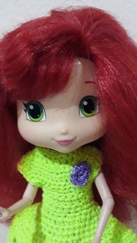 Boneca Moranguinho Estilos linda  - Foto 4