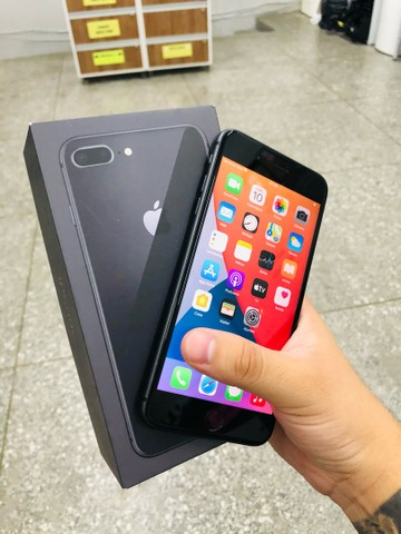 Boa tarde >> iPhone 8 Plus black pra hoje, aproveite  - Foto 3