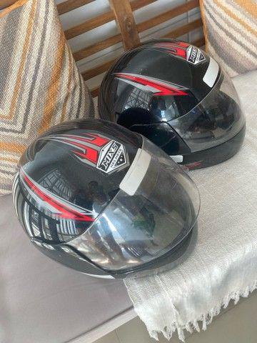 Dois capacetes TAM 58 R$130,00 - Foto 3