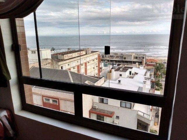 Vista eterna pro mar / 50m da praia - Apartamento 1 dormitório na Prainha em Torres / RS - Foto 8