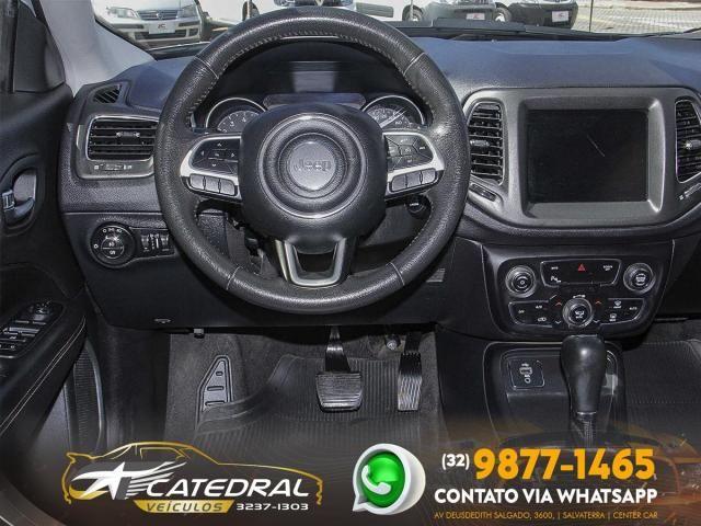 Jeep Compass longitude 2.0 4x2 Flex 16V Aut. 2018 *Novíssimo* Carro Impecável - Foto 8