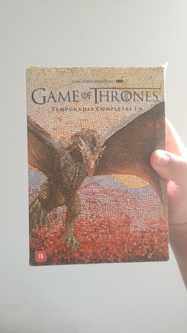 DVDs originais game of thrones