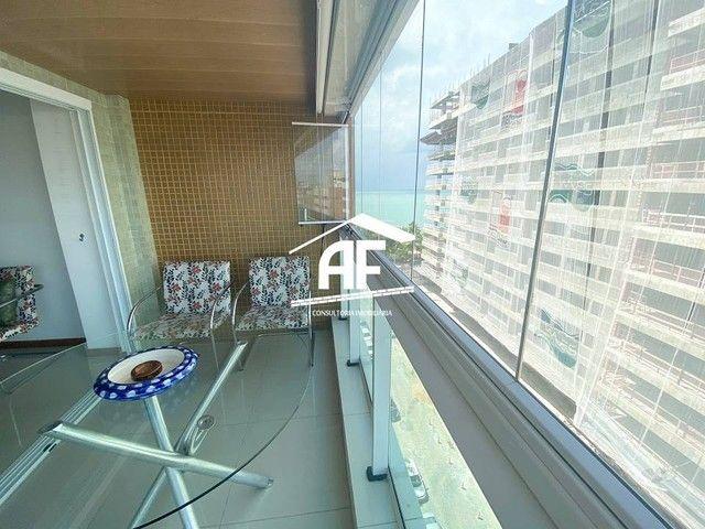 Apartamento com varanda com vista permanente para o mar - Localizado na Ponta Verde - Foto 5
