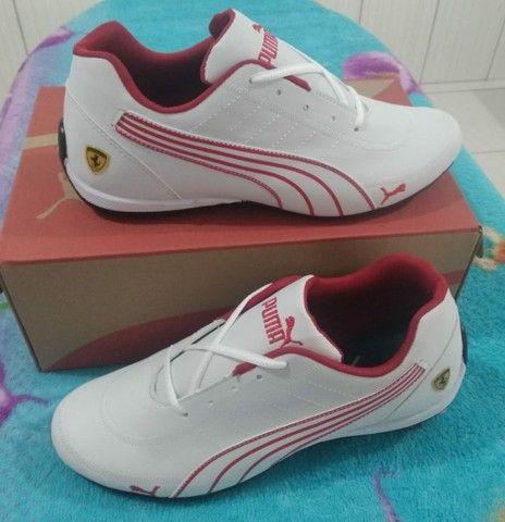 Vendo sapatênis puma bmw e Ferrari ( 120 com entrega ) - Foto 4