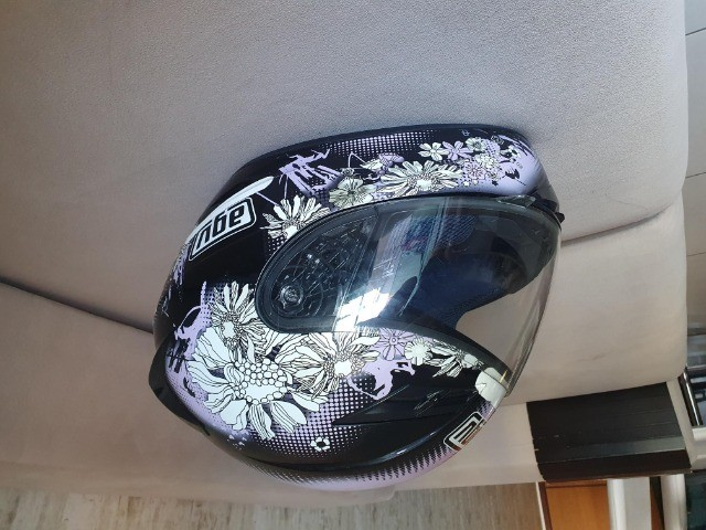 capacete agv feminino tamanho 54 - Foto 8
