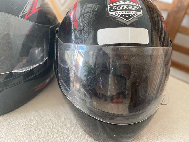 Dois capacetes TAM 58 R$130,00 - Foto 5