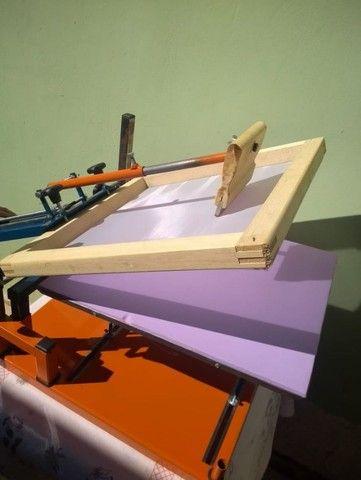 Maquina de Silk Screen Jeferson Machines Sem uso... - Foto 2