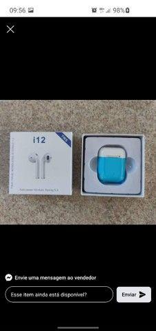 Fones i12 TWS Bluetooth - Foto 2