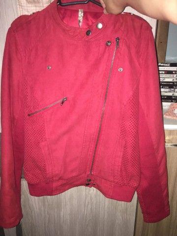 Jaqueta Importado Vermelha