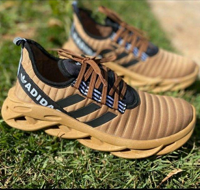 Vendo sapatênis Adidas e tênis Adidas alpha ( 120 com entrega) - Foto 3