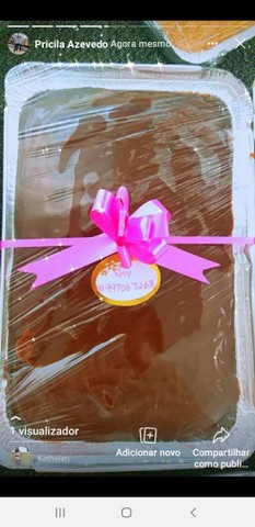 Forneço bolos caseiros para revenda * - Foto 6