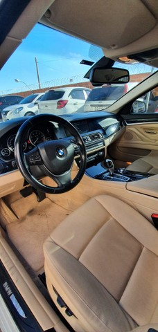 Torro! Ipva Pago!!! BMW 528I 2.0 Turbo - Top de Linha, 2013, interior Caramelo, 245 Cv - Foto 13