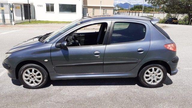 Direto Sem Consulta na Global-Peugeot 206 Pres 1.4 -2005 Completo r$7.790 Leia o Anúncio - Foto 3