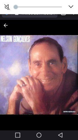 LP de Nelson Gonçalves Auto retrato 1989.