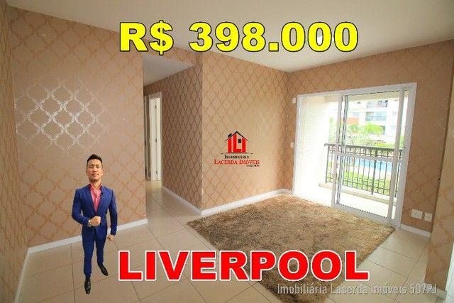 Liverpool, 69m², 2 quartos com suíte, 1º andar, Aceita FGTS na Entrada, Ponta Negra