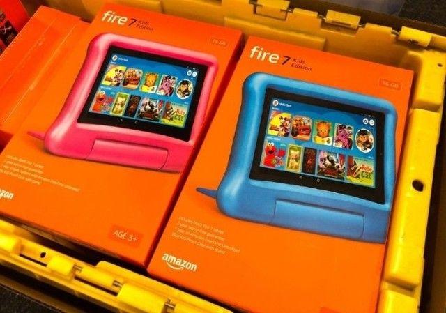 Tablet Infantil Amazon Fire 7 Kids - 16GB - Rosa ou Azul