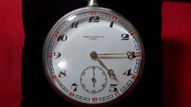 Relógio de Bolso Antigo Omega Tissot