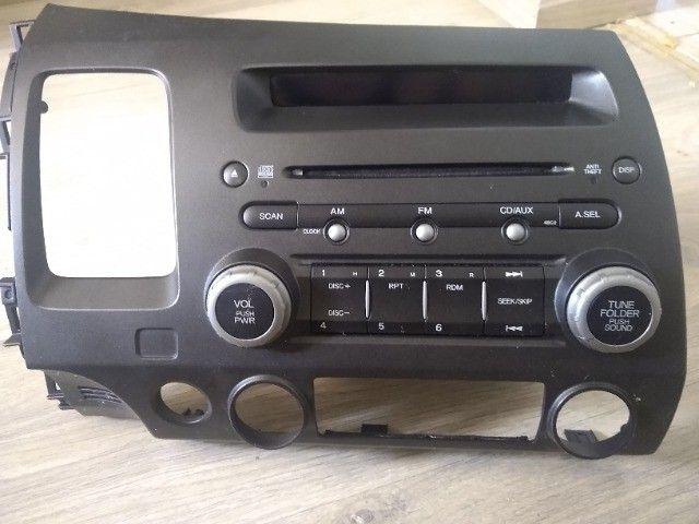 Rádio Honda Civic 2008 - Foto 3