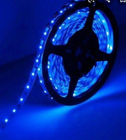 Fita Led Azul 5 Metros  - Foto 3