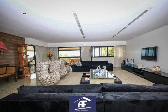 Apartamento de alto padrão com vista permanente para o mar, 4 suítes - Maceió/AL - Foto 4