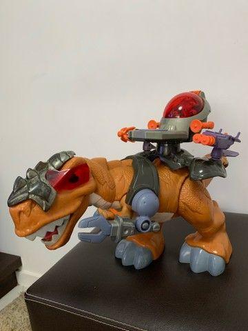 Dinossauro Fisher Price Imaginext T-rex - Foto 4