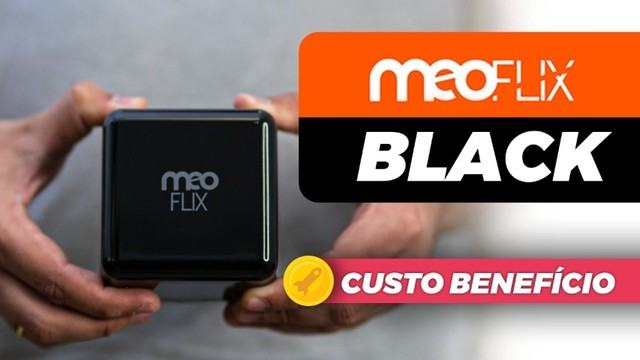 Meoflix black Novo a pronta entrega
