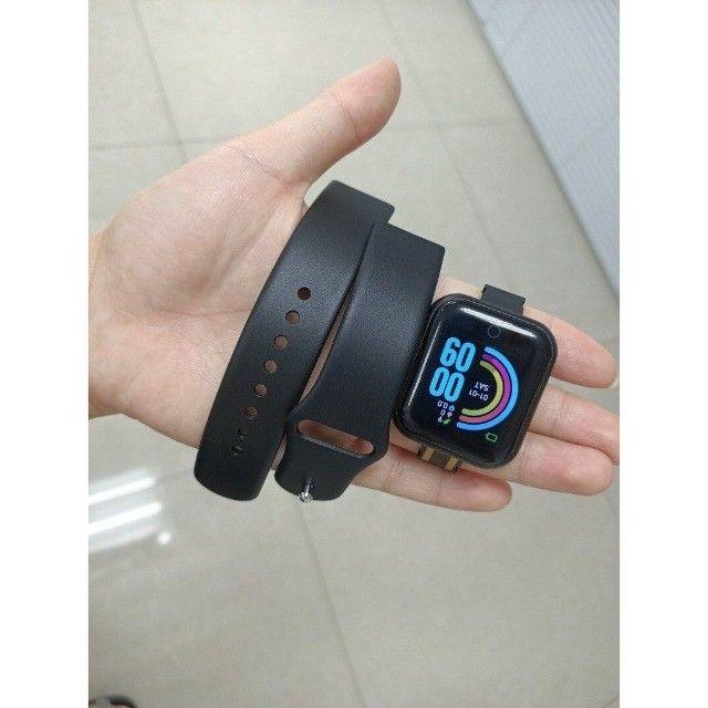 SmartWatch/ Prova d'Água, Batimentos Cardíacos e Pressão, Esportes, Notificação Bluetooth - Foto 4