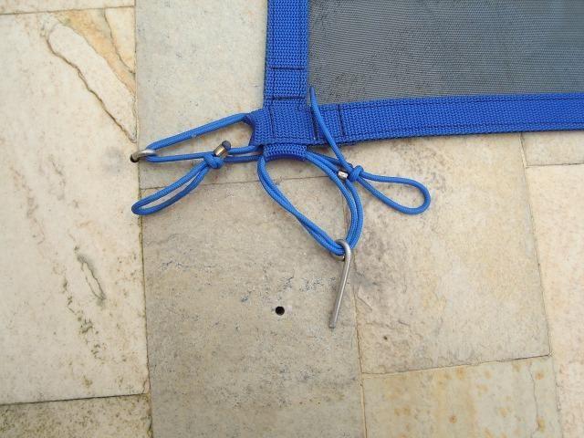 Tela de protecao para piscina direto de fabrica - Foto 6
